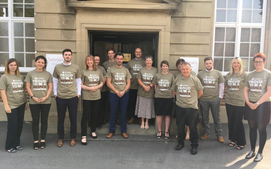Salisburys Chartered Accountants are Climbing Snowdon for St Kentigern Hospice!