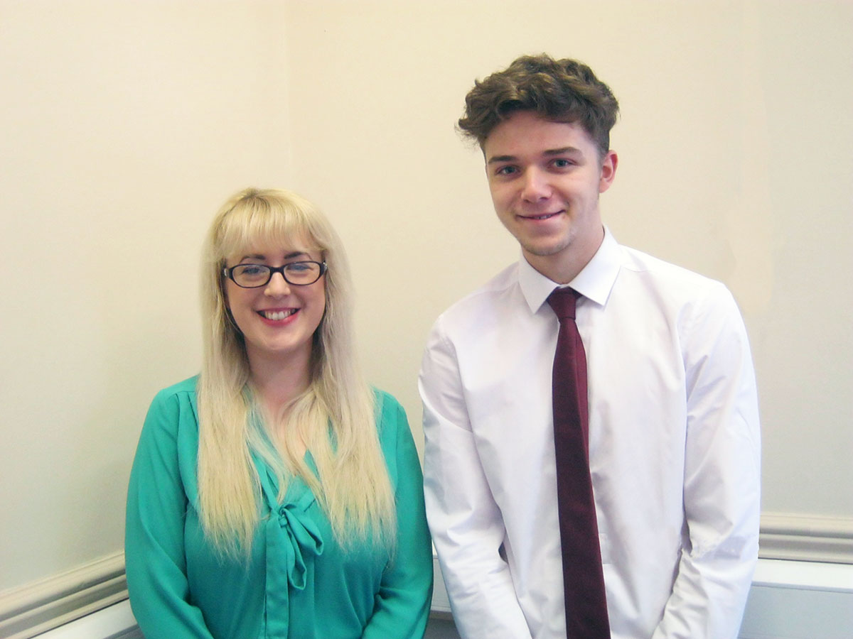 Salisbury's Welcome Two New Staff Members