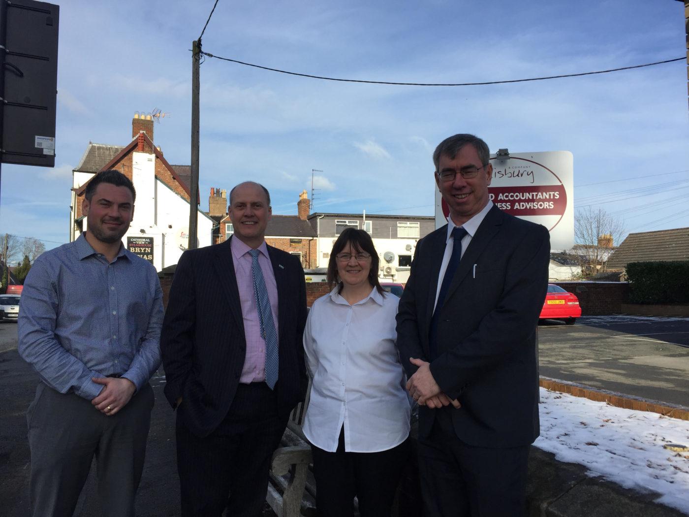 Salisburys Accountants Complete Second Acquisition